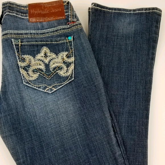 Hydraulic Bailey Micro Boot Cut Jeans